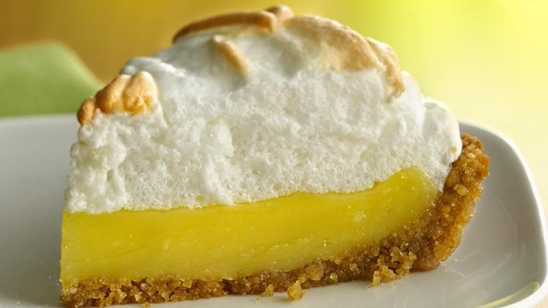 Luscious Meringue Lemon Pie