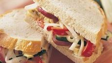 Grilled Garden Vegetable Sandwiches Recipe