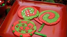 Christmas Lollipop Cookies Recipe