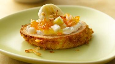 Golden Breakfast Bruschetta