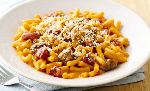 Betty Crocker® mac & cheese with a twist--the addition of Italian ...