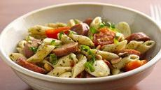 Caprese Sausage Pasta Salad Recipe