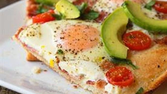 Avocado Breakfast Pizza With Fried Egg Recipes — Dishmaps