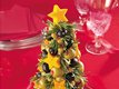 Cheese &amp; Olive Appetizer Tree