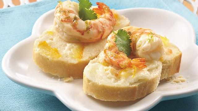 Citrus-Marinated Shrimp Canaps