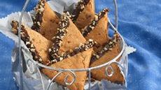 Butterscotch-Pecan Cookie Wedges Recipe