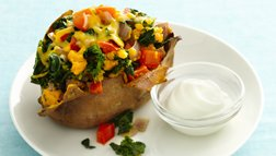 Gluten Free Loaded Sweet Potatoes