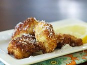 Asiago-Artichoke Poppers