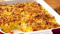 Cheesy Mexican Corn Bake Recipe