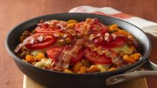 Bacon-Double Cheeseburger Skillet Recipe