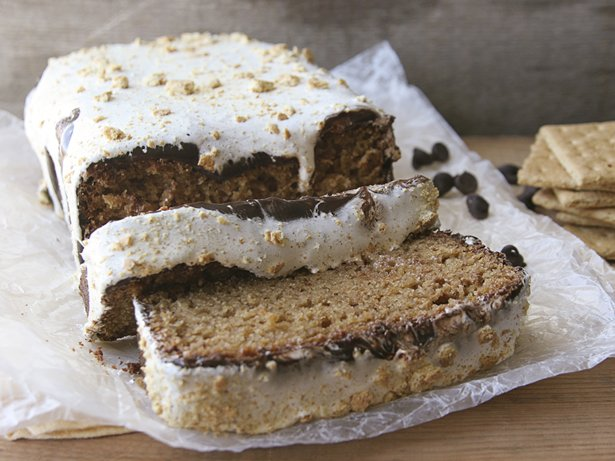 Smores Quick Bread