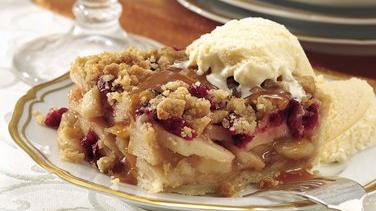 Cranberry-Apple Pie Squares