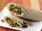 Healthified Bacon and Edamame Wraps