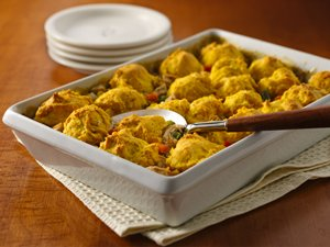 Turkey Pumpkin Casserole