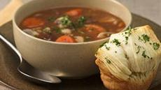Beef Burgundy Soup for Two Recipe