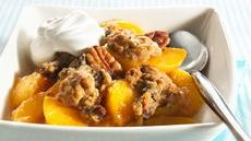 Peach Oatmeal Crisp Recipe