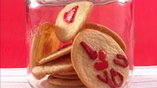 Thumbprint Heart Sugar Cookies Recipe