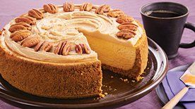 Pumpkin Pecan Cheesecake recipe - from Tablespoon!