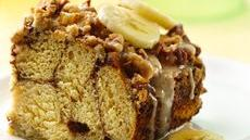 Banana-Walnut Brunch Squares Recipe