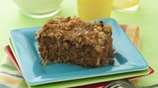 Old-Fashioned Oatmeal Cake with Broiled Topping Recipe