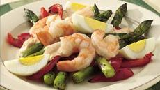 Shrimp and Fresh Asparagus Salad Recipe