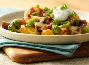 Loaded Roasted Potato Casserole