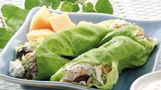 Chicken Salad Lettuce Wraps Recipe