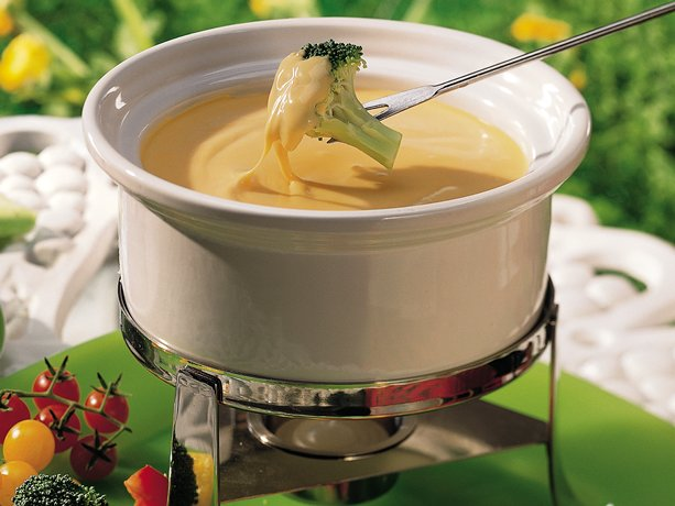 Cheddar Fondue