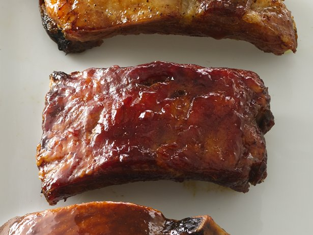 Back Ribs with Sweet-Savory Sauce