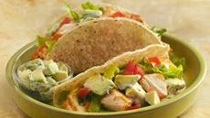 Grilled Fish Tacos with Creamy Avocado Topping Recipe