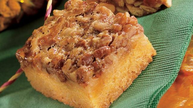 Pecan Toffee Squares