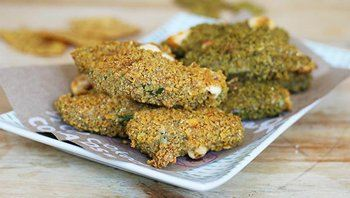 Chip-Crusted Jalapeño Poppers