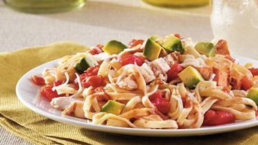 Southwest Chicken and Linguine