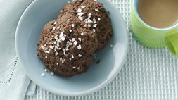 Dark Chocolate Sea Salt Cookies