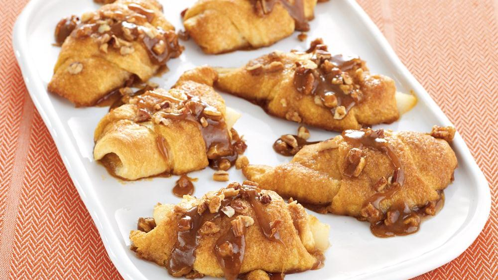 Sticky Pear Crescents