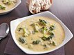 Slow Cooker Three Cheese Broccoli Soup