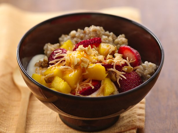 Tropical Fruit 'n Ginger Oatmeal