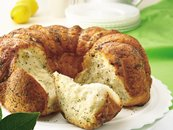Lemon-Poppy Seed Pull-Apart Coffee Cake