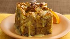 Orange-Kissed Breakfast Bread Pudding Recipe