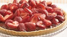 Chocolate-Strawberry Pie Recipe