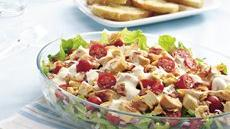 Buffalo Chicken Layered Salad Recipe