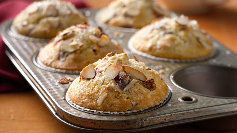 Cranberry Almond Granola Muffins