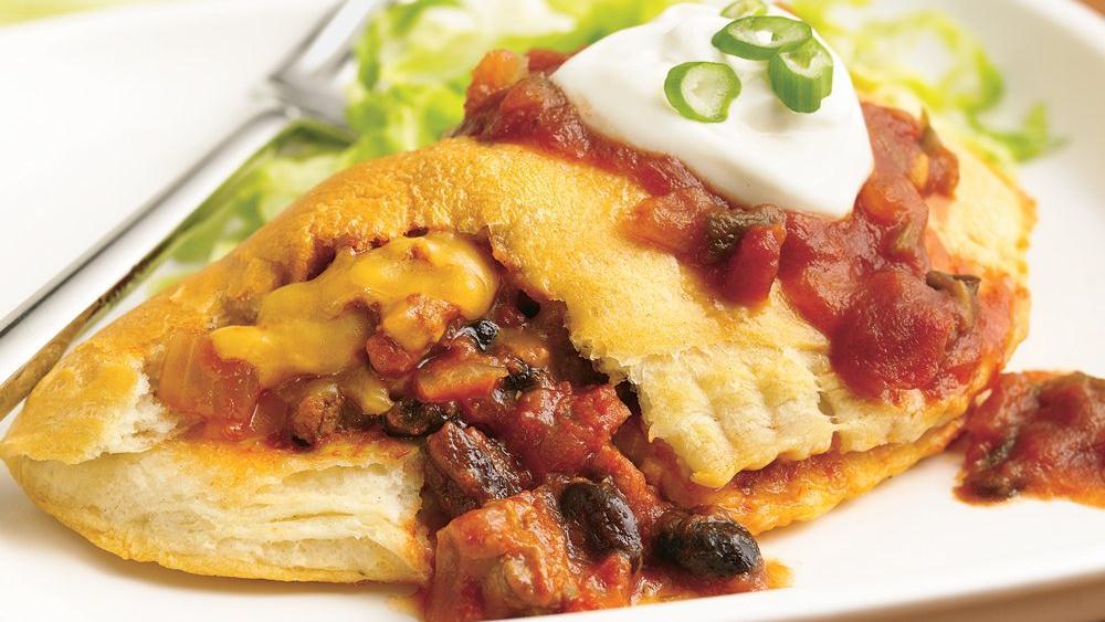 Beef Taco Foldovers