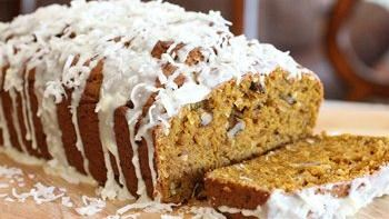 Coconut-Pumpkin Bread