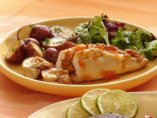 Image of Apricot Chicken Breasts, Betty Crocker