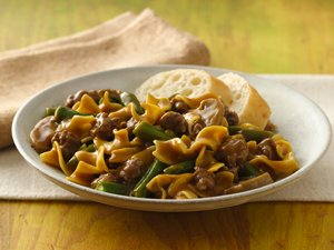 Green&#32;Bean&#32;and&#32;Beef&#32;Pasta&#32;Supper