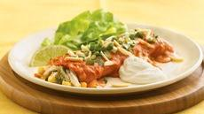 Cravin' Crab Enchiladas Recipe