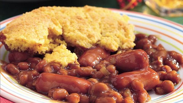 Corn Dog Casserole