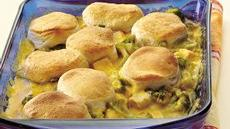 Creamy Turkey and Broccoli Cobbler Recipe