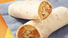 Tropical Peanut Butter Burritos Recipe